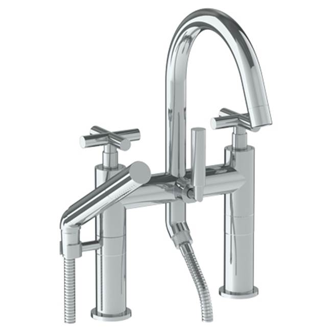 Watermark Deck Mount Roman Tub Faucets With Hand Showers item 23-8.2-L9-WH