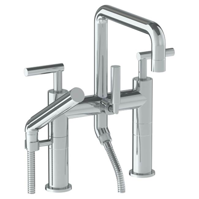Watermark Deck Mount Roman Tub Faucets With Hand Showers item 23-8.26.2-L8-VB