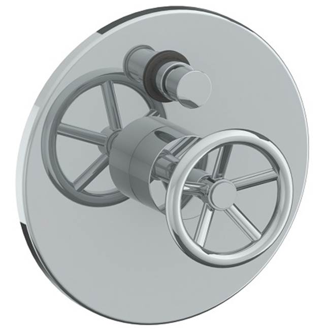 Watermark Pressure Balance Trims With Integrated Diverter Shower Faucet Trims item 31-P90-BK-PG