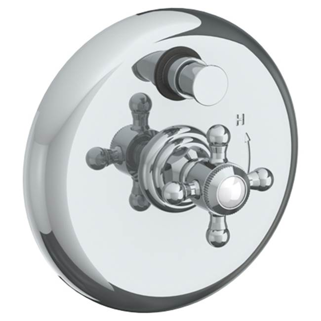 Watermark Pressure Balance Trims With Integrated Diverter Shower Faucet Trims item 312-P90-V-ORB