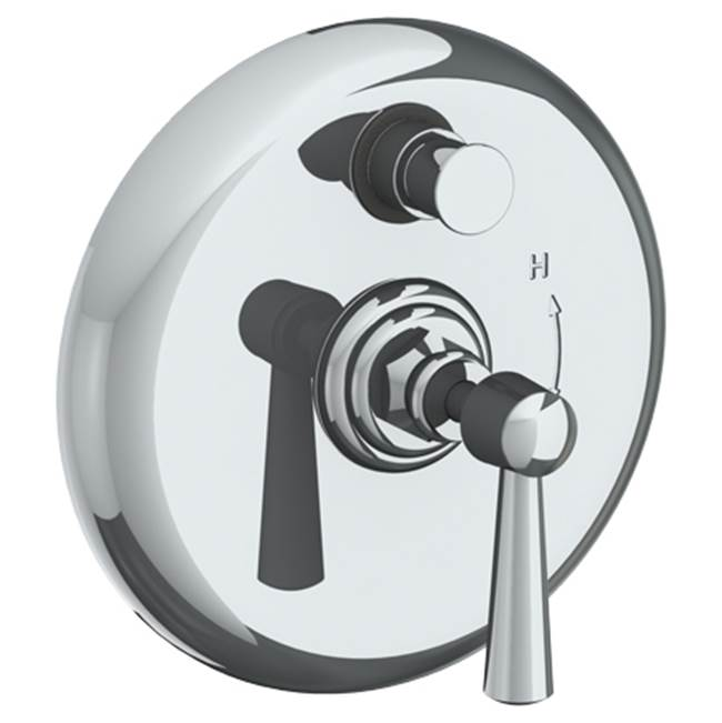 Watermark Pressure Balance Trims With Integrated Diverter Shower Faucet Trims item 312-P90-Y2-PG