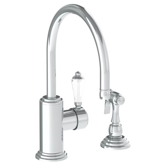 Watermark Deck Mount Kitchen Faucets item 321-7.4-SWA-SG