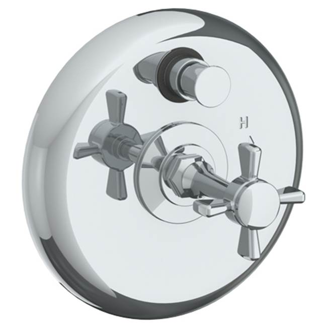 Watermark Pressure Balance Trims With Integrated Diverter Shower Faucet Trims item 34-P90-B9M-PCO