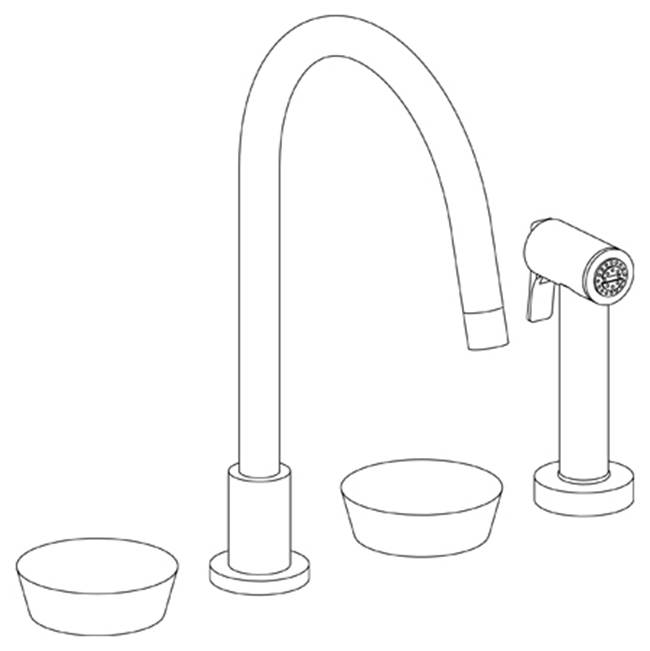 Watermark Deck Mount Kitchen Faucets item 36-7.1G-CM-UPB