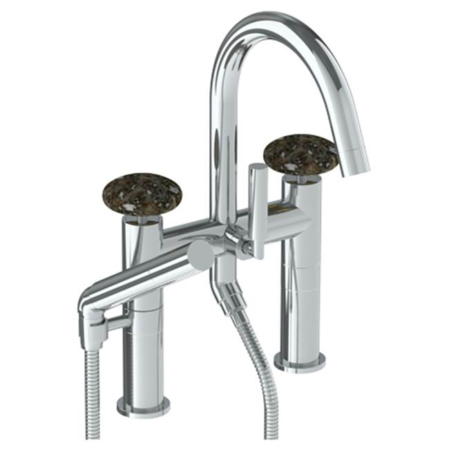 Watermark Deck Mount Roman Tub Faucets With Hand Showers item 36-8.2-MM-SN