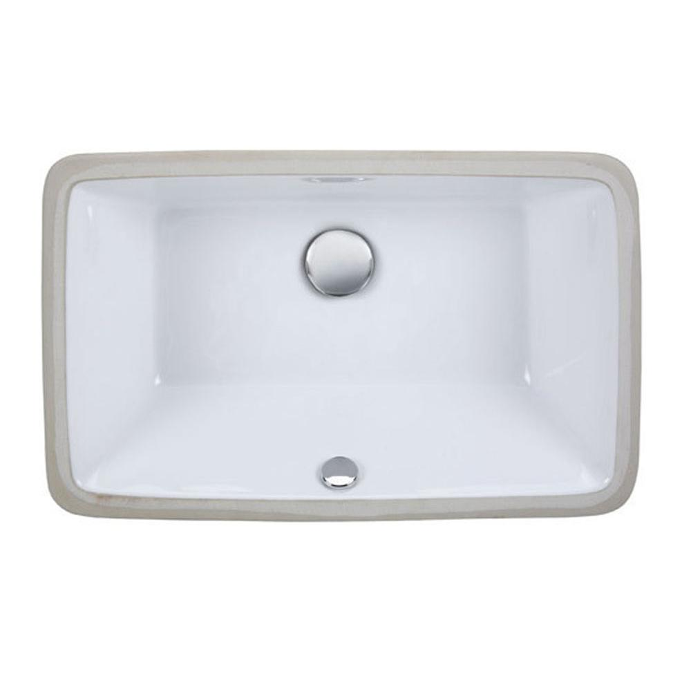 Ryvyr Undermount Bathroom Sinks item CUM198RWT
