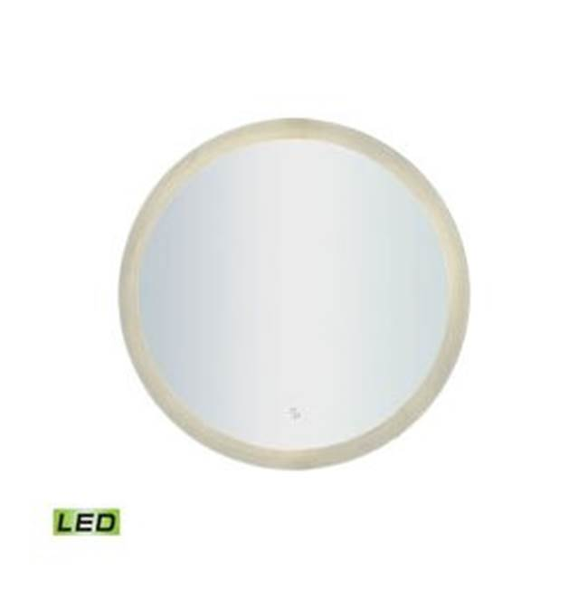 Ryvyr Electric Lighted Mirrors Mirrors item LM3K-2424-BL-RD