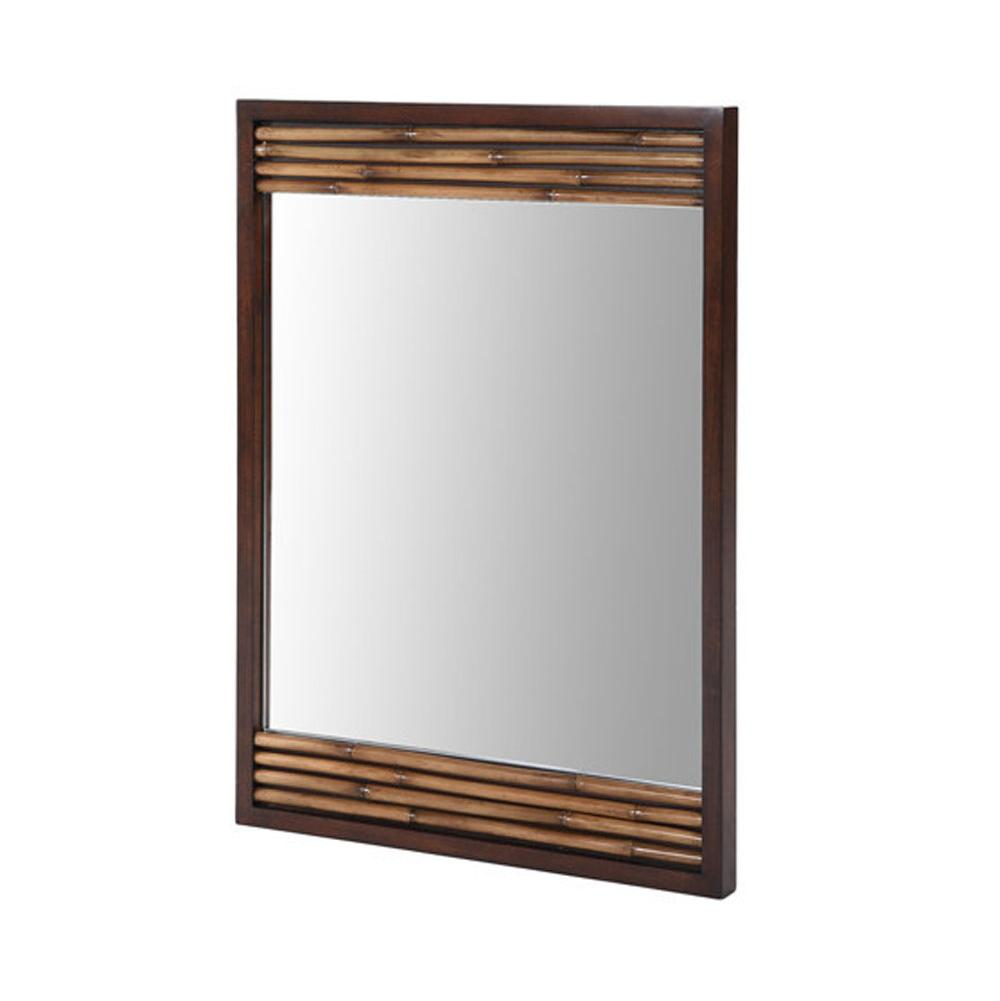 Ryvyr Rectangle Mirrors item M-BAMBU-26DB